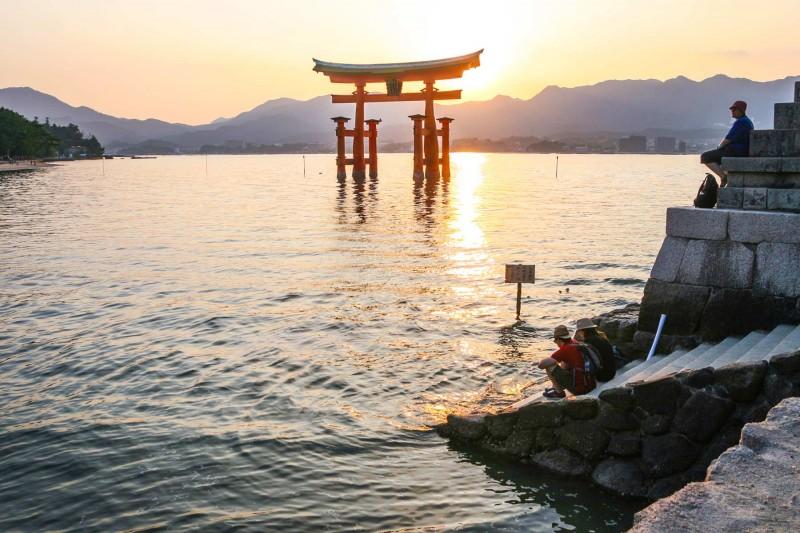 Miyajima Torii Gate - Hiroshima, Japan