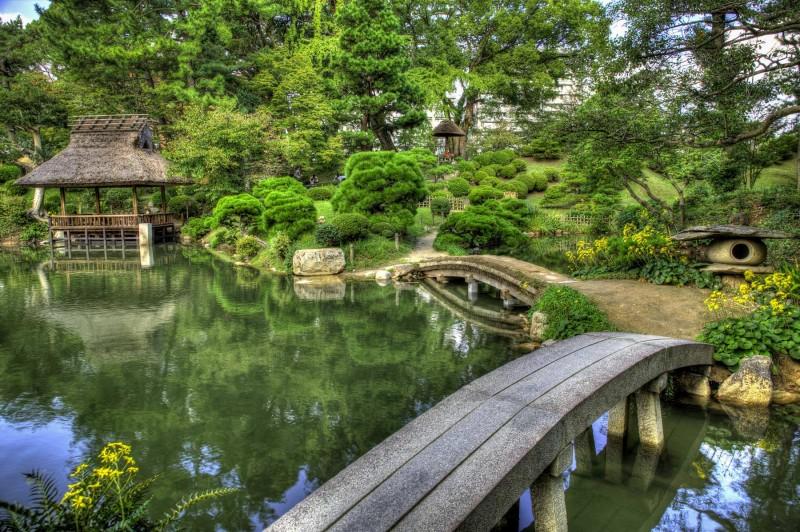 Shukkein Garden - Hiroshima, Japan (HDR)